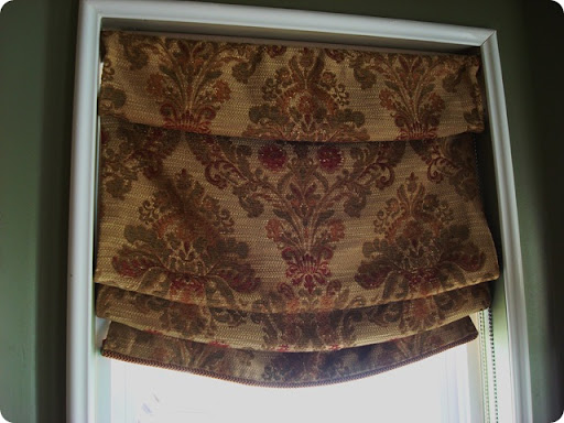 Rewind Diy (no Sew!) Roman Shades From Thrifty Decor Chick